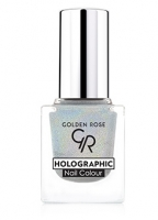 Golden Rose Holographic Nail Colour