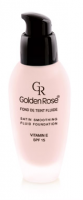 Golden Rose Satin Smoothing Fluid Foundation (SPF 15)